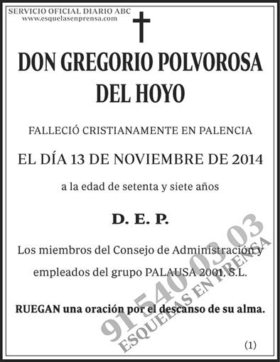 Gregorio Polvorosa del Hoyo